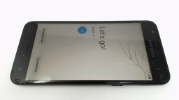 Samsung Galaxy J3 V SM-J337, Verizon, Black CRACKED GLASS