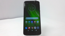 Motorola Moto G6 Play XT1922-6 Verizon Sapphire Cracked Glass PARTS ONLY
