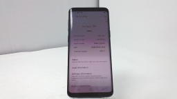 Samsung Galaxy S9 SM-G960U, T-Mobile, Black, Cracked Glass, PARTS ONLY
