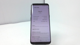 Samsung Galaxy S8 SM-G950U, Verizon, Black, Cracked Glass