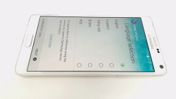 Samsung Galaxy Note 4 SM-N910V White Verizon