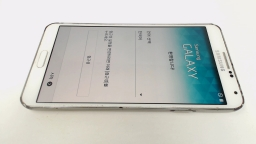 Samsung Galaxy Note 3 SM-N9005 WhiteSK Telecom (Korean) CRACKED REAR