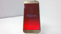 Samsung Galaxy A7 SM-A720F, Digicel, Gold, PARTS ONLY