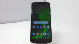 Motorola Moto G6 XT1925-12, Verizon, Black, Cracked Glass