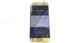 Samsung Galaxy S7 Edge SM-G935V, Verizon, Gold, Cracked Glass