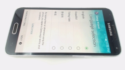 Samsung Galaxy S5 SM-G900V Black/Blue Verizon LCD BURN