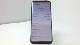 Samsung Galaxy S8+ SM-G955U, Verizon, Black, Cracked Glass, PARTS ONLY