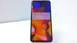 LG V40 ThinQ LM-V405UA, Verizon, Sapphire, Cracked Glass