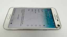 Samsung Galaxy S5 SM-G900V White  - Verizon CRACKED GLASS