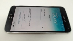 Samsung Galaxy S5 SM-G900T Black T-Mobile LCD BURN