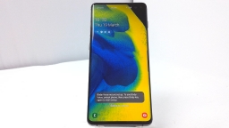 Samsung Galaxy S10+ SM-G975F/DS, Unknown Carrier, Black Ice, 128GB, PARTS ONLY