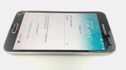 Samsung Galaxy S5 SM-G900A Black AT&T, PARTS ONLY SCREEN DELAMINATING