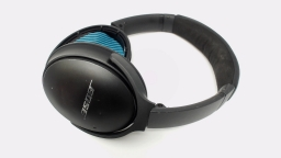 Bose QC 35 II Series 2 Wireless Headphones Black STATIC/NO PADS/DENTED