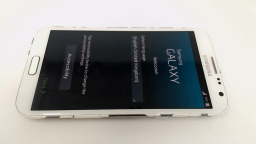 Samsung Galaxy Note II GT-N7100 Black - Carrier: 9 Mobile