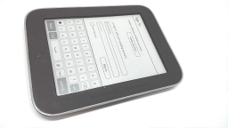 "Barnes & Noble Nook Simple Touch with Glowlight 6"" eReader, BNRV350, 2GB"