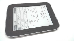 "Barnes & Noble Nook Simple Touch with Glowlight 6"" eReader, BNRV350, Bad Display"