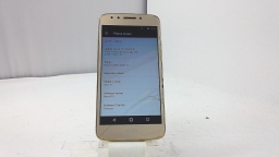 Motorola Moto E4 XT1765, Metro PCS, Gold, Cracked