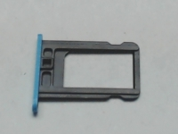Blue SIM Card Slot Tray Holder Fix Repair Replacement For iPhone 5c