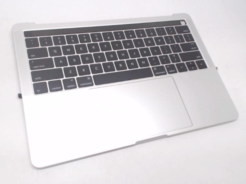 "MacBook Pro 13"" w/ Touch Bar Top Case w/ Battery, Silver ..."