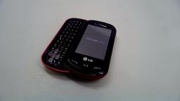 LG Extravert, Prepaid - Black - *SCRATCHED, SCUFFED* (Verizon), Bad ESN