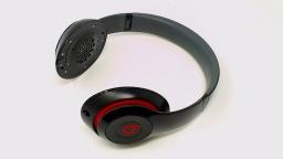 Beats Studio WIRED 2.0 Headphone - Glossy Black - NO PADS