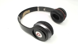Beats Solo HD WIRED Headphone Glossy Black - NO INNER HEADBAND NO AUDIO CORD