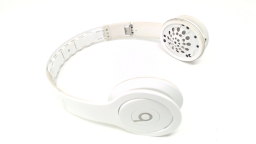 Beats Solo HD WIRED Headphone Matte White NO INNER HEADBAND/EAR PADS/AUDIO CORD