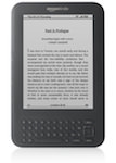 "Kindle 3 Graphite Wi-Fi - 6"" E-Ink Display  (Grade B)"