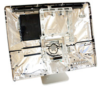"Intel iMac 24"" Rear Housing w/ Stand"